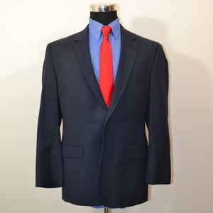 Pronto Uomo 44S Sport Coat Blazer Suit Jacket Dark